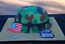 patriotic cakes n goodies