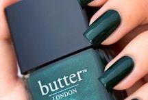 Colored nails design