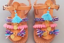 Mom & daughter sandals