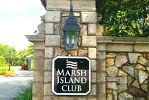 MARSH ISLAND CLUB                  Vero Beach Florida / Barbara Martino-Sliva with Dale Sorensen Real Estate.  Luxury waterfront community in charming Vero Beach Florida.  Spectacular homes on an island in the Indian River Lagoon with concierge marina service.
