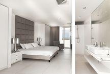 wit met grijs interieur