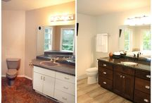 DeLeers Projects - Bathroom Before & After / Bathroom Before & After: With just a few minor changes we were able to create a whole new environment for this home owner.  They were very pleased with the transformation and excited to start enjoying their new bathroom.