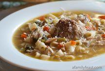 Soups & Stews / by Jennifer Hornback