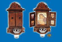 Wooden Iconostasis Shrines