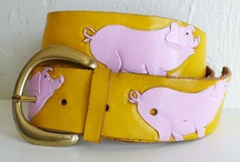 Piggy Accessory ~ Belt + Buckle