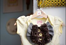Baby clothes and hair things / by Shanelle Santisteban
