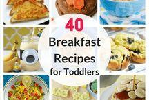 Toddler breakfast recipes