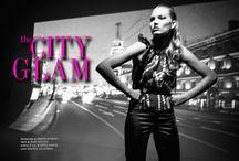 city glam / photography DIMITRI BURTSEV | fashion ELKE FREYTAG | makeup&hair MARTINA HIRSCH | model KRISTINA KRAJCIROVA