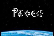 Peace, Mir, Salaam, Paix, Shanti,Shalom / by Terry Mayfield