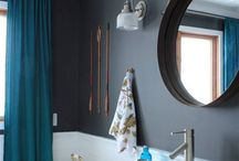 Wall colours and coverings
