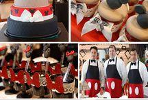 Mickey board / Bday party