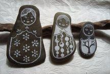 Crafts: rocks / by Gina Haveman