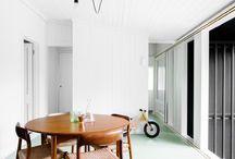 Paint that floor! / Mooie vloerkleuren