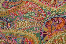 Paisley patterns and prints