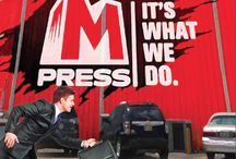 MPress - Our Brand / MPress is committed to utilizing leading edge technologies and performance tested equipment to streamline the production process and meet the highest standards.