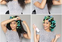 Flexi Rod Sets on Natural Hair / This board features natural hair styles for black women created using flexi rod rollers.  Beautiful curls and spirals done on short natural hair, long natural hair, and medium natural hair.