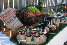 Fiesta huerta de vegetales