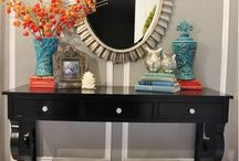 Make an entrance / Entry way/ entry hall