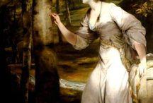XVIII paintings