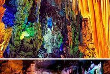 Grotten en spelonken over de hele wereld