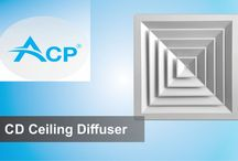 ACP Products - Air Diffusers / Air diffusers for HVAC systems. Visit our site for details: http://www.acp.ro/produse/