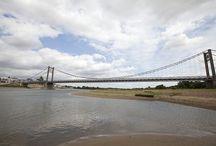 Les ponts de Loire-Atlantique / Du 12 novembre 2013 au 4 décembre 2013, partagez votre plus belle photo de pont de Loire-Atlantique et tentez de gagner une visite exceptionnelle des entrailles du pont de Saint-Nazaire perché à 129 mètres d'altitude ... Pour jouer c'est ici : http://goo.gl/J1wjGx