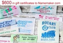 Name Maker Clothing Labels / by Lauren Rusten
