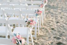 Hawaii Beach Wedding Ceremony Decor