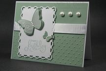 butterfly cards/stamps