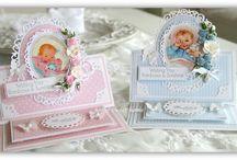 Kartki na chrzest, narodziny