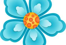 Flower cliparts for kids