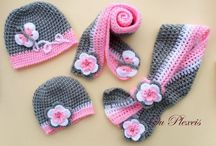caciulite crosetate-tricotate / crochet-knitted hats
