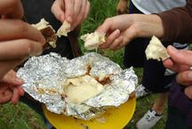 Camp fire food