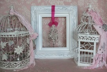 Bird Cages ~ Upcycled Repurposed Reuse / vintage collectibles, upcycled, repurposed, reuse, reimagine, wedding decor, home decor, lighting, wall decor,