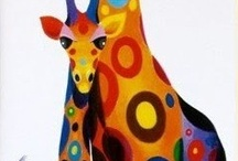 giraffe spot coloured