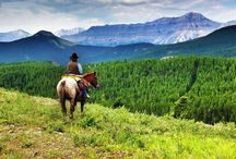 Rocky Mountains / Beautiful Rocky Mountains in Alberta, Canada