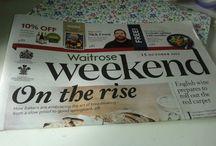 Waitrose//Magazines
