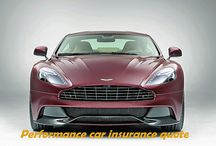 Performance car insurance quote