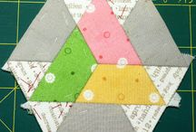 QUILTED: Hexies, EPP etc.