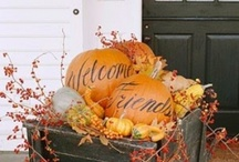 Fall Decorating / Ideas to make your home feel cozy and welcoming when the weather starts to cool and leaves begin to fall