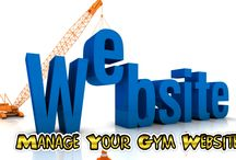 Manage your Gym Website / ¤ If you want to have a website for your GYM for marketing purpose, then Random team will provide you this facility. ¤ Through this website also, you would be able to manage lots of things related your GYM.
