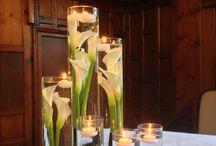 Wedding cylinder vases