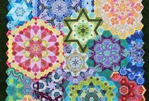 new hexagon Quilting