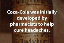 Φαρμακοποιός ανακάλυψε πρώτος την coca cola για την θεραπεία του πονοκεφάλου.