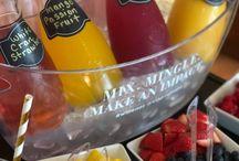 3 Steps to Make a Mimosa Bar