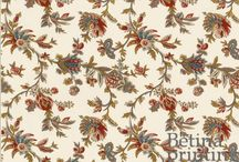 Fabrics - Repro 18th -19th c. Prints & Patterns / 18th - 19th c. reproduction prints, jacquards, and brocades for sale
