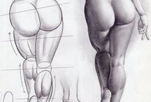 human body sketches