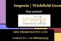 """Imperia 37th Avenue / Imperia  """" 37th Avenue """" is a Premium Executive Apartment(Residentials) , includes 1 & 2 bhk in the Affordable Rates"""