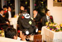 (キャラクター)くまモンがテーマの結婚式(くまモンウェディング) / くまモンがテーマの結婚式を実現するには、まずは先輩花嫁さんの実例を参考にしましょう!お気に入りフォトを集めました。http://www.kawaiihanayome.com/