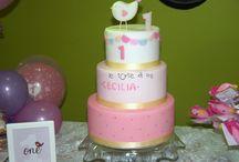 Primo compleanno Cecilia